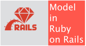 Model in Ruby on Rails